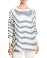 Lafayette 148 New York - Joplin Striped Silk Blouse - Lyst