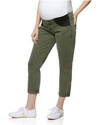 PAIGE - Brigitte Maternity Jeans In Vintage Green - Lyst