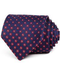 Bloomingdale's - Neat Daisy Silk Classic Tie - Lyst