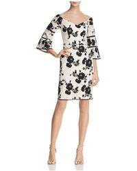 Adelyn Rae - Jillian Off-the-shoulder Lace Dress - Lyst
