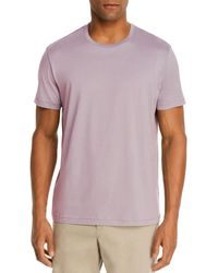 Bloomingdale's Pima Cotton Crewneck Tee - Purple