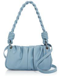 Aqua Soft Shoulder Bag - Blue
