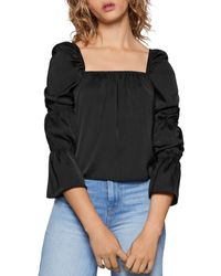 BCBGeneration - Square-neck Top - Lyst