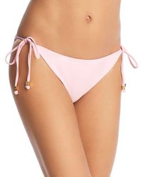 Shoshanna - Clean Triangle Bikini Bottom - Lyst