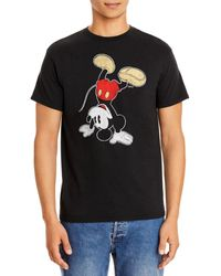 Junk Food Mickey Mouse Cotton Tee - Black