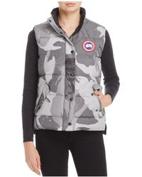 Canada Goose - Freestyle Camo Down Vest - Lyst