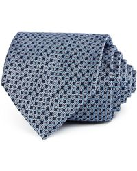 Bloomingdale's - Neat Compass Silk Classic Tie - Lyst