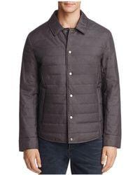 Bloomingdale's Shirt Jacket - Grey