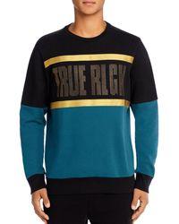 True Religion Crystal Pull-over Long-sleeve Jumper - Black
