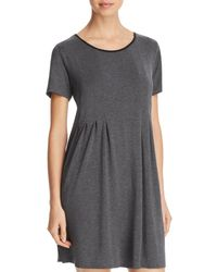 Donna Karan - Scoopneck Short-sleeve Sleepshirt - Lyst