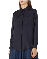 Reiss   Meera Silk Pocket Shirt   Lyst