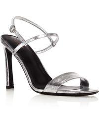 Via Spiga Ren Slingback Sandal - Metallic
