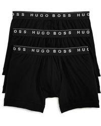 BOSS by Hugo Boss Boxer Brief 3-pack Bm Us 50325384 Underwear - White