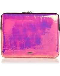 Skinnydip London - Holographic Laptop Case - Lyst