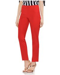 Vince Camuto - Side Zip Skinny Trousers - Lyst