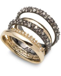 Alexis Bittar - Pavé Orbit Crystal - Encrusted Layered Ring - Lyst