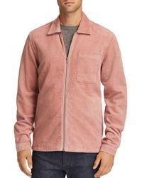 Wesc Nick Corduroy Shirt Jacket - Pink