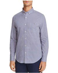 Vineyard Vines | Pine Frost Plaid Slim Fit Button-down Shirt | Lyst