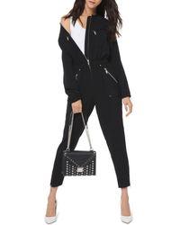 Michael Kors Cady Utility Jumpsuit - Black