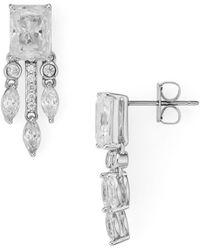 Nadri - Revel Small Fringe Earrings - Lyst