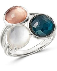 Ippolita - Sterling Silver Wonderland Mother - Of - Pearl Doublet Ring - Lyst
