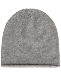AllSaints Rolled Edge Beanie - Grey