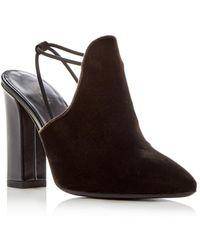 Via Spiga - Women's Arina Velvet High-heel Mules - Lyst