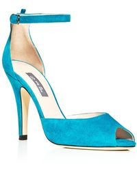SJP by Sarah Jessica Parker - Marquee Suede High Heel Pumps - Lyst