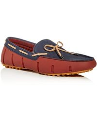 c11e9babc64f5 Swims Lace-up Rubber Loafer, Blue/orange in Blue for Men - Lyst
