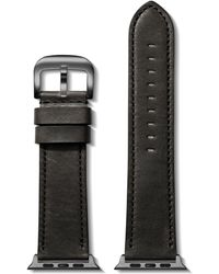 Shinola Leather Strap For Apple Watch® - Black