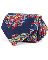 Drake's | Exploded Paisley Classic Tie | Lyst