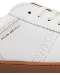 Bruno Magli Bono Lace Up Trainers - White