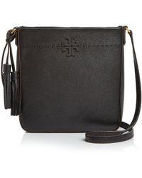 e026c6a7ffa Lyst - Tory Burch Marsden Swingpack Leather Crossbody Bag - in Black