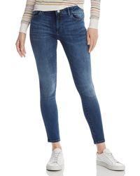 DL1961 Margaux Instasculpt Skinny Jeans In Sabine - Blue