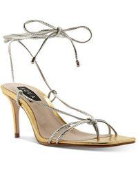 Aqua Women's Dirlene High - Heel Strappy Sandals - Multicolour