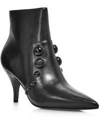 e5653127ed89 Tory Burch - Women s Georgina Pointed Toe Studded Booties - Lyst
