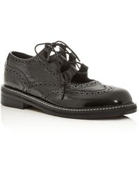 Marc Jacobs Women's The Ghillie Brogue Oxfords - Black
