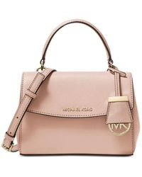 MICHAEL Michael Kors Ava Extra Small Leather Crossbody - Pink