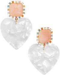 BaubleBar - Aerilyn Heart Earrings - Lyst