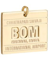 Jet Set Candy | Bom Mumbai Luggage Tag Charm | Lyst