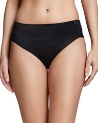 Tc Fine Intimates - Microfiber High-cut Briefs - Lyst