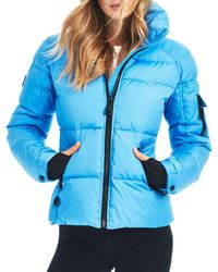 Sam. Freestyle Down Jacket - Blue