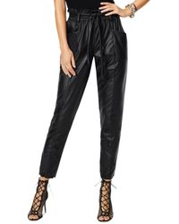 Ramy Brook Marty Faux Leather Pants - Black