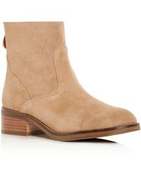 Gentle Souls - Women's Parker Suede Low Heel Booties - Lyst