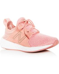 New Balance - Women's Cruz Lace Up Trainers - Lyst