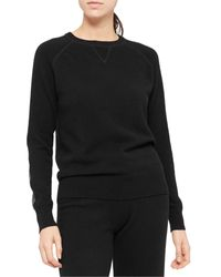 Theory Cashmere Sweatshirt - Black