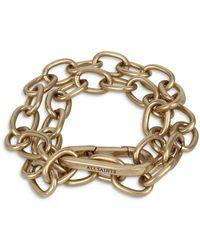 AllSaints - Chunky Link Statement Bracelet - Lyst