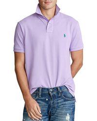 Polo Ralph Lauren - Big Tall Classic-fit Short-sleeved Cotton Mesh Polo Shirt - Lyst