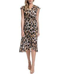 Gottex Kenya Wrap Dress Swim Cover - Up - Brown