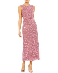 Mac Duggal Embellished Column Dress - Multicolour